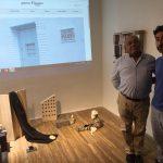 Norberto Dotor abrió de par en par su Galería Fúcares para el Ateneo