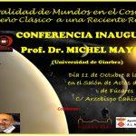 El Premio Nobel de Física 2019, Michel Mayor inaugura el Curso del Ateneo de Almagro