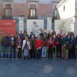 Goya recibe al Ateneo de Almagro en el Prado