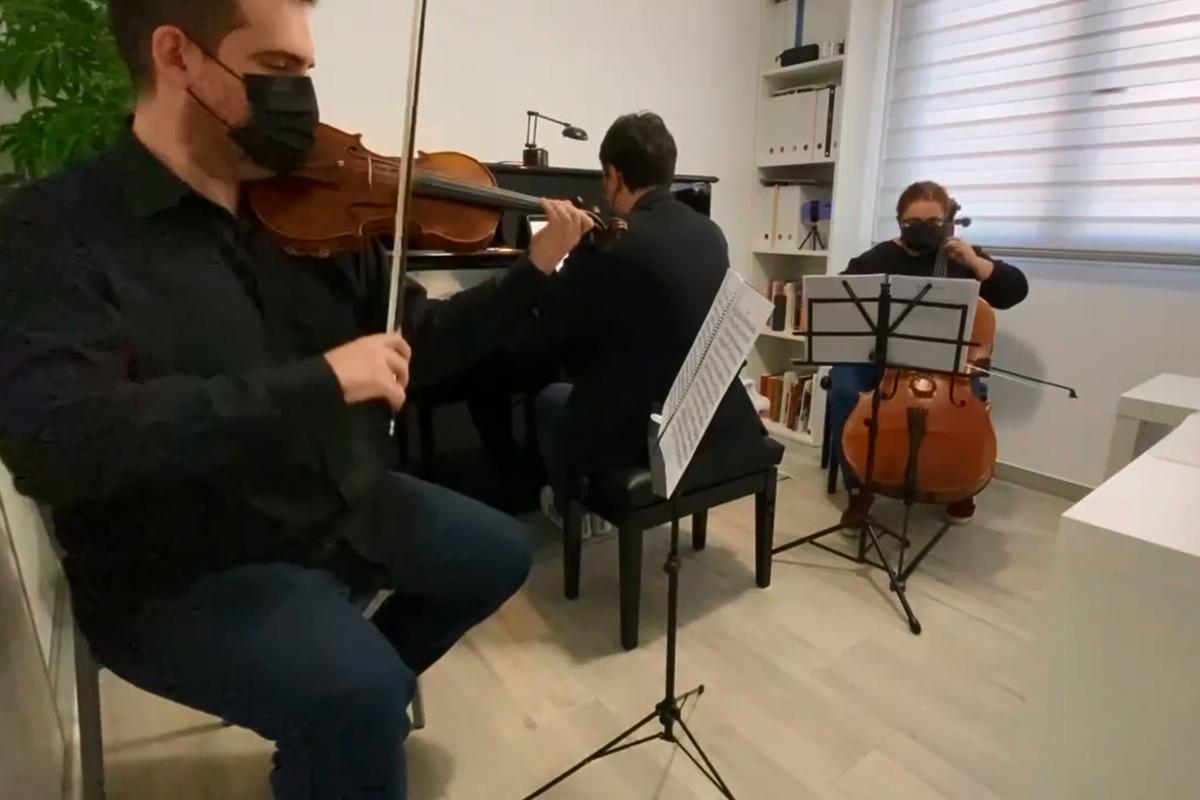 El Ateneo cerró el año Beethoven con un concierto virtual