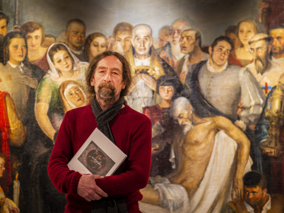"""Ruiz Toribio presenta su libro """"Almagro"""" en tres puntos de Ciudad Real."""