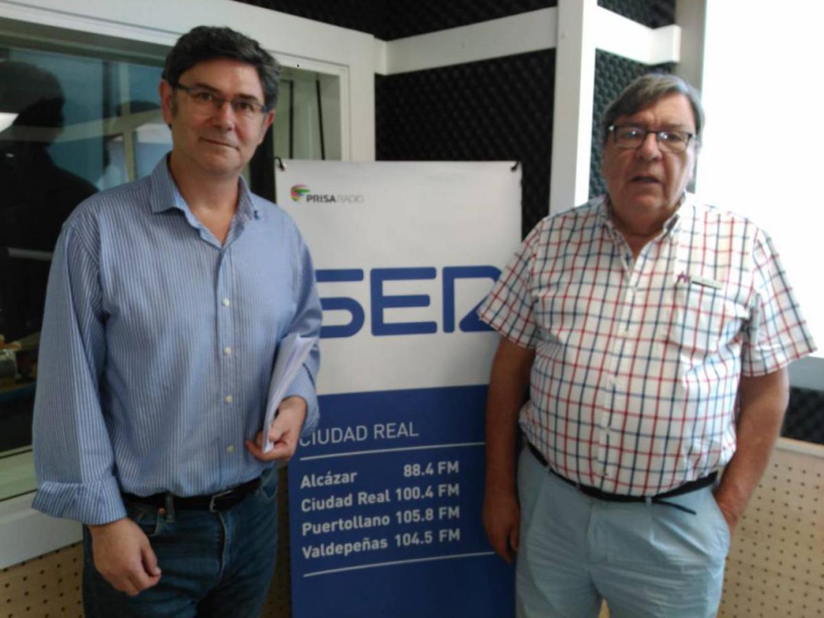 Entrevista en SER Ciudad Real.